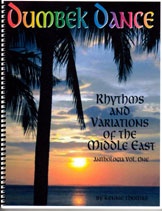 Book: Middle Eastern Rhythm Studies for Dumbek. With Iqa'at and Taqsiim. ANTHOLOGIA Vol. One.