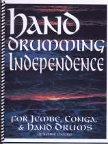Hand Drumming Independence, technique book for hand drum enthusiasts