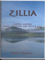 Book: Middle Eastern Dance Rhythm Studies for Zills and Riqq. With 10 Essential Dumbek Patterns. ANTHOLOGIA Vol. Two.