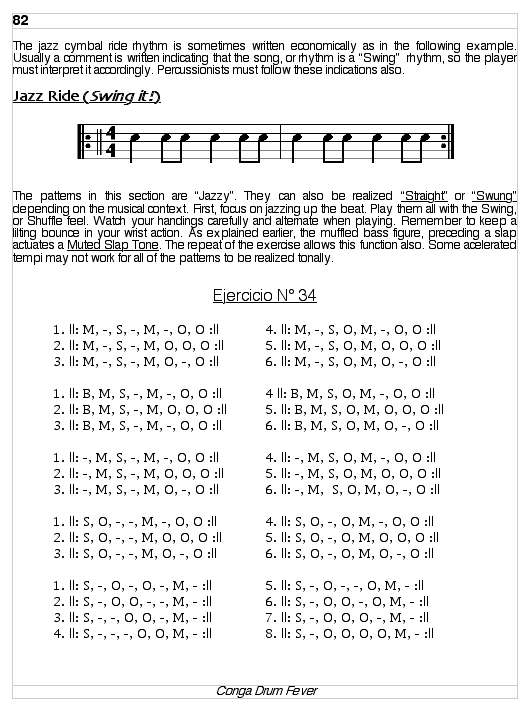 Book - Conga Drum Fever - Lessons, Exercises, and Rhythms for Conga